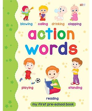 Action Words Book - English