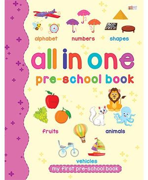 All in One Pre-School Book - English