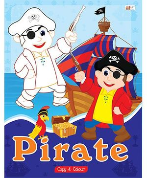 Pirate Copy Color Book - English