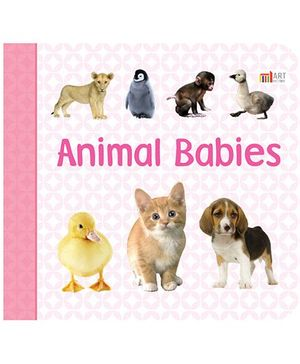 Animal Babies Book - English