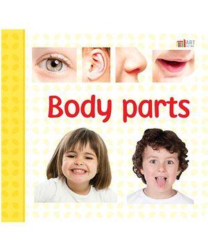 Body Parts Book - English