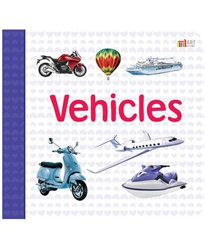 Vehicles Book - English