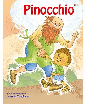 Pinocchio Story Book - English