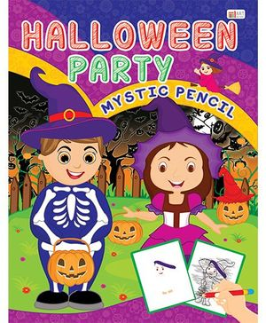 Halloween Party Drawing Book - English