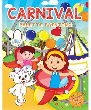 Carnival Palette Painting Book - English
