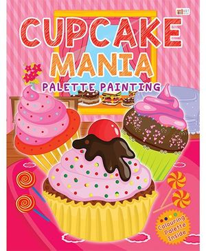 Cupcake Mania Palette Painting Book - English