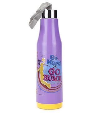 Cello Homeware Double Wall Insulated Bottle Purple - 500 ml