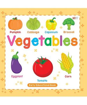 Vegetables Book - English