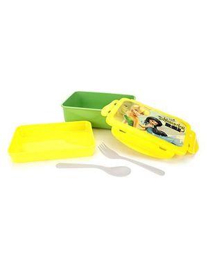 Cello Homeware Disney Fairies Polo Lunch Box Rectangle - Yellow