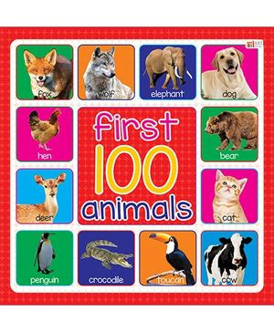 First 100 Animals - English