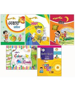 Bansal Publishers Crunchy Pack Part A - Hindi & English