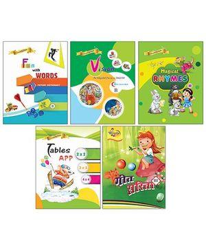 Bansal publishers Crunchy Pack Part C - Hindi & English