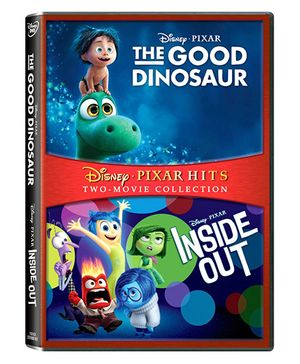 Disney Inside Out & The Good Dinosaur DVD - English