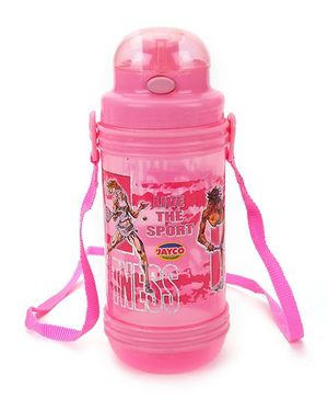 Jayco Sipper Water Bottle Pink - 900 ml