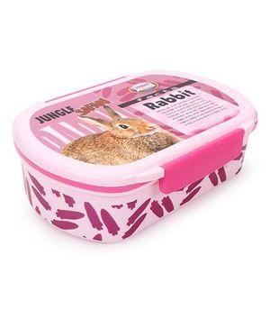 Jewel Crispy Jumbo Deluxe Tiffin Box - Light Pink