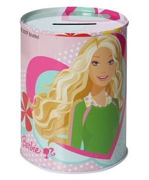 Barbie Coin Bank - Hot Shape