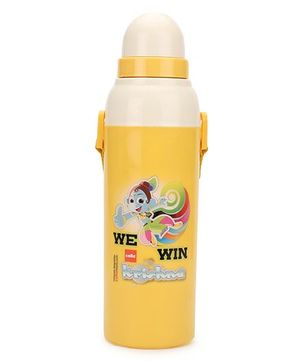Cello Homeware Insulated Water Bottle Yellow - 600 ml