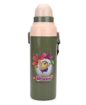 Cello Homeware Cool Wiz Sipper Bheem Print Water Bottle - 600 ml