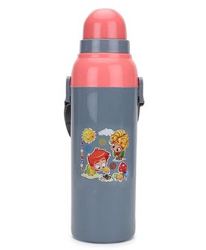 Cello Homeware Cool Wiz Boy and Girl Print Sipper Water Bottle - 600 ml