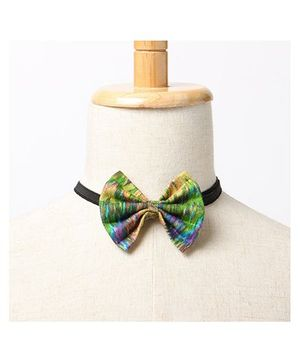 Brown Bows Buttefly Bow Tie - Multi Color