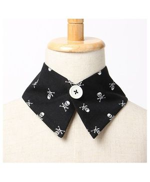 Brown Bows Collar Small - Black