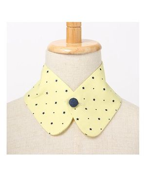 Brown Bows Collar Small - Yellow
