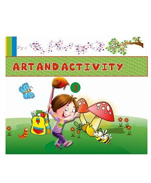 Art And Activity Book 3 - English