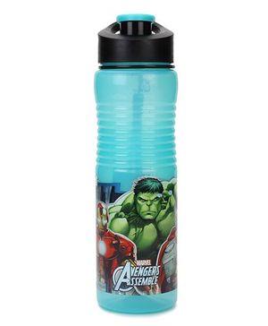 Marvel Avengers Print Disney Refresh Water Bottle Green - 700 ml
