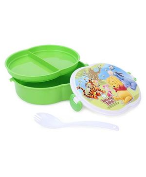 Disney Winnie The Pooh Print Pickwick Lunch Box - Green
