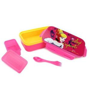 Disney Cinderella Lunch Box - Pink