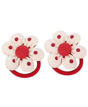 De Berry Flower Rubber Band - Red