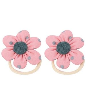 De Berry Flower Rubber Band - Pink