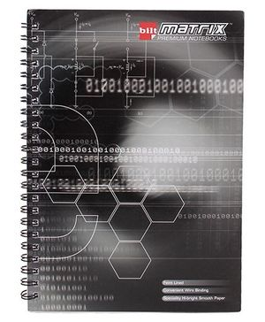Bilt Matrix Premium Notebook - 92 Pages