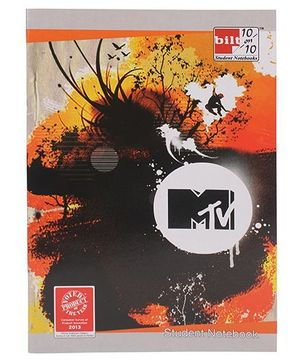 Bilt 10/10 Student Notebook - MTV Print
