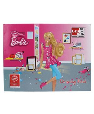 Bitl 10/10 Drawing Book Barbie Print - 40 Pages
