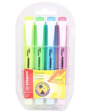 Bilt Stabilo Swing Cool Highlighters - Pack of 4