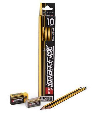 Bilt Matrix Yellow Pencils - 10 Pieces
