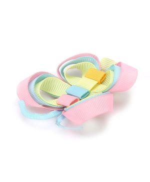 Angel Closet Butterfly Hair Clip - Pink & Blue