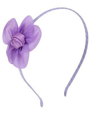 Angel Closet Rose Hairband - Purple
