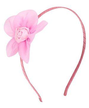 Angel Closet Rose Hairband - Light Pink