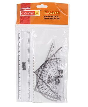 Camlin Exam Mathematical Instrument Set - Pack Of 4