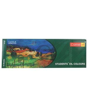 Camel Students Oil Colour Box 9ml Tubes - 12 Shades