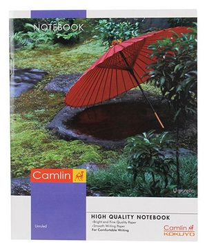 Camlin Small Unruled Notebook - 160 Pages