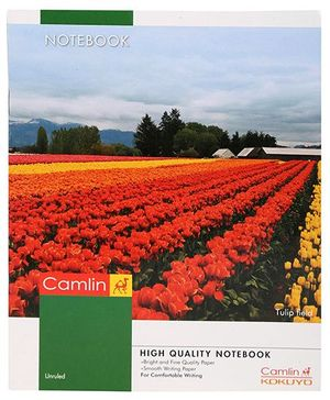 Camlin Unruled Small Notebook - 80 Pages