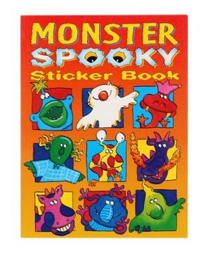 Monster Spooky Sticker Book