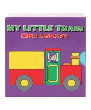 My Little Train Mini Library - English