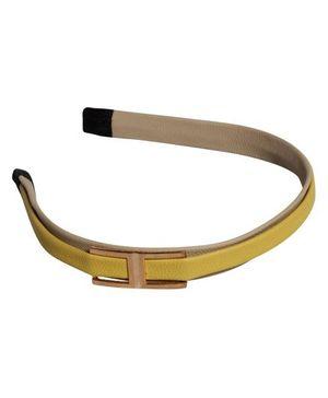 Hair Band Golden 'H'
