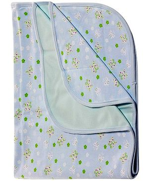 Catasy Diaper Changing Mat Butterfly Print Blue