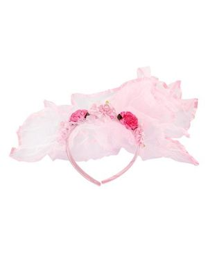 Barbie - Hair Band Frill Pink