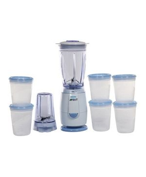 Avent - Miniblender and Feeding Set
